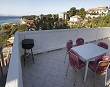 Terrace with barbecue - Apartments Ana Lopar