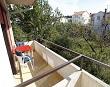 Pogled sa balkona iz apartmana - Apartmani Ana Lopar